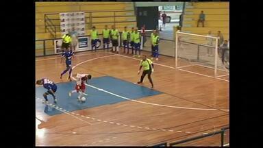 Volta Redonda e Barra Mansa empatam pela Copa Rio Sul de Futsal - Jogo de revanche terminou em 1 a 1.