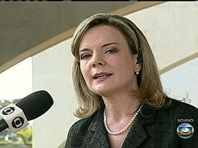 Gleisi Hoffmann participa intensamente das negociações no congresso - A ministra da casa civil, Gleise Hoffmann, aumenta o nível das negociações que pretende aprovar a votação da medida provisória que moderniza e reduz os custos dos portos.