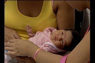 Campanha explica importância do teste do olhinho em recém nascidos - Teste pode identificar problemas visuais em bebês.