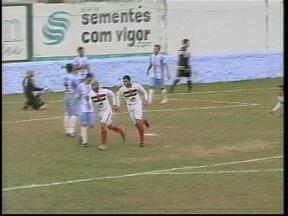 São Paulo-RG e Brasil de Pelotas decidem o primeiro turno da Série A2 do Gauchão - Quem vencer garante vaga na Primeira Divisão do ano que vem.