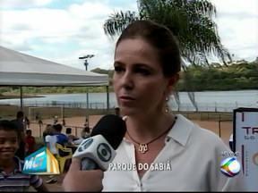 'Tribos Bem Viver' é realizado no Parque do Sabiá em Uberlândia - Evento foi apresentado por Mônica Cunha na manhã deste sábado (18). Intuito do projeto é reunir vários esportes em um único momento