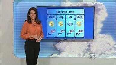 Confira a previsão do tempo para este final de semana em Ribeirão Preto - Confira a previsão do tempo para este final de semana em Ribeirão Preto