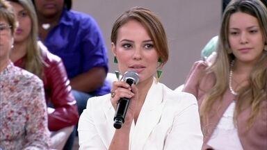 Paolla Oliveira abandonou a fisioterapia para ser atriz - Atriz diz que coragem é fundamental