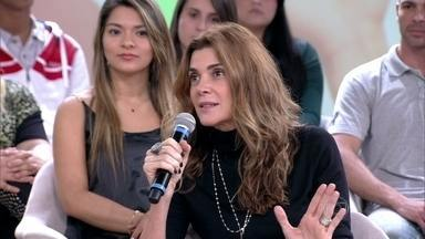 Mônica Torres passou a poupar dinheiro com a maturidade - Convidados contam o que fazem com o dinheiro