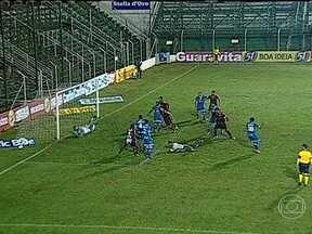 Confira os primeiros gols da Série B do Brasileirão em 2013 - Em Itápolis (SP), o Avaí marcou primeiro com Márcio Diogo. Mas o Oeste empatou com um gol do goleiro Fernando Leal, aos 49 minutos do segundo tempo. Em Paragominas, o Paysandu-PA e o Asa-AL ficaram no 1 a 1.