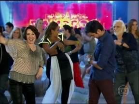 Confira os bastidores da gravação da vinheta da Dança dos Famosos - Vídeo Show acompanhou elenco aprendendo e apresentando coreografia
