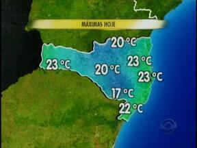 Confira a previsão do tempo com Sonia Campos - Meteorologia prevê mudança no tempo.