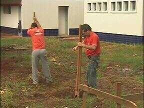 Obras em creches são retomadas em Foz - Prefeitura promete entregar sete novas unidades até o fim do ano