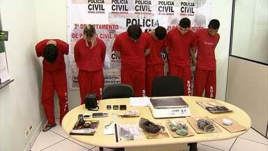 Seis suspeitos de tráfico de drogas são preos em Florestal, na Região Central de MG - Entre eles, dois universitários.
