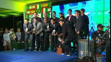 Melhores do Campeonato Mineiro recebem o Troféu Globo Minas 2013 - Atlético foi o time que recebeu mais prêmios.