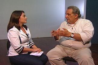 Médico especialista fala sobre os principais cuidados que se deve ter com saúde de idosos - Confira algumas orientações na entrevista com o geriatra Arnaldo Viegas.