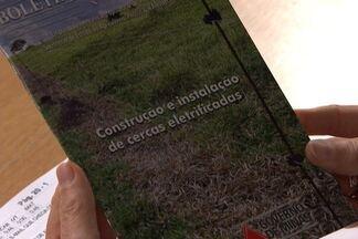 Publicação da Epamig ensina a construir uma cerca elétrica - O livreto da Empresa de Pesquisa Agropecuária de Minas Gerais custa R$ 6,50, sem as despesas dos Correios.
