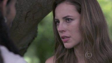 Paloma confessa que não esqueceu Ninho, mas não aceita se reconciliar - Ela acusa o ex-namorado de não se importar com a filha que tiveram e os dois discutem