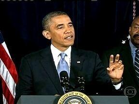 Obama defende grampos feitos pelo governo americano em telefones e na internet - Documento secreto foi obtido pelo jornal britânico The Guardian. Presidente ordenou lista de países alvos potenciais de ataques cibernéticos.