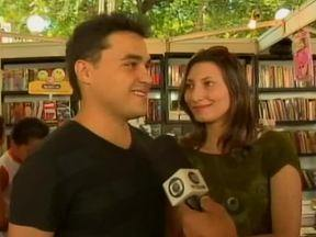 Livros são os presentes escolhidos por vários casais para o Dia dos Namorados - Livros são os presentes escolhidos por vários casais para o Dia dos Namorados