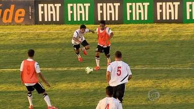 Seleção do Taiti vive dias de pop stars em Belo Horizonte - Time já treina no CT do América-MG