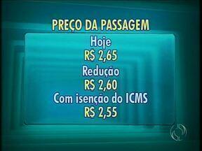 Passagem deve baixar para R$ 2,55 na semana que vem em Maringá - Antes projeto precisa passar por votações na Câmara de Vereadores