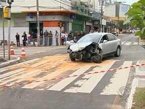 Acidente na Avenida Mauro Ramos causa queda de energia no Centro da capital - Acidente na Avenida Mauro Ramos causa queda de energia no Centro da capital