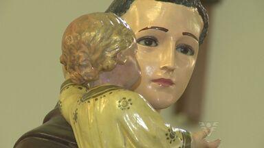 Católicos da região comemoram o dia de Santo Antônio - Igrejas tem missas em homenagem ao santo