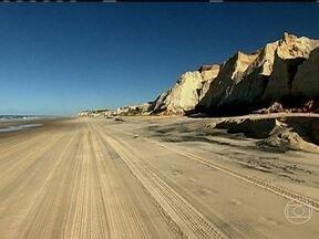 Lagosta e litoral do Ceará - Programa visita o Ceará para mostrar a pesca da lagosta. Mostra paisagens deslumbrantes compostas por dunas e as tradicionais jangadas