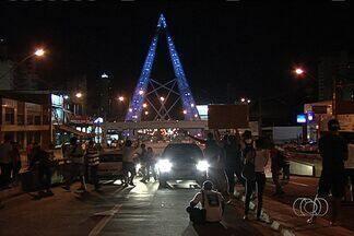 Confira como foi a manifestação na última quinta-feira (20) em Goiânia - Câmeras da TV Anhanguera registraram todos os momentos do protesto realizado na capital. Além de percorrer as ruas do Setor Central, manifestantes seguiram até a Praça do Ratinho.