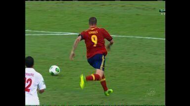Seleção da Espanha deve chegar em Fortaleza nesta sexta-feira - Espanha é campeã da última Copa do Mundo.