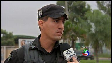 Policiais do Bope participam de treinamento para atuar na Copa em Cuiabá - Policiais do Batalhão de Operações Especiais de Mato Grosso passam por um treinamento para atuar em grandes eventos. O foco da capacitação é a Copa do Mundo.