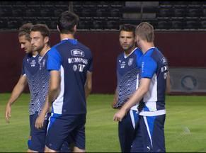 Itália treina em Salvador, que joga sem o craque Pirlo - Itália treina em Salvador, que joga sem o craque Pirlo.