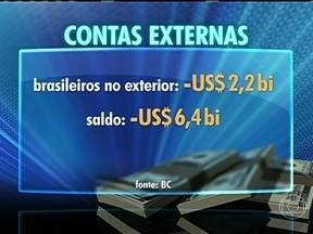 Brasileiros batem recorde de gastos no exterior - No último mês de maio, foram gastos US$ 2,2 bilhões. Trocas de bens e serviços do Brasil com outros países teve recorde negativo.