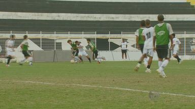XV de Piracicaba se prepara para a Copa Paulista - Os jogadores do XV de Piracicaba fizeram um jogo treino para testar os atletas. O time tem novidades para se destacar na Copa Paulista em julho.