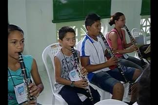 Bragança é escolhida para sediar projeto 'Painéis Funarte de Bandas de Música' - Projeto do Ministério da Cultura incentiva o desenvolvimento de bandas locais, em todo o país.
