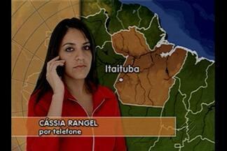 Índios Munduruku fazem reféns funcionários de empresa em Jacareacanga - A repórter Cássia Rangel tem as informações por telefone.