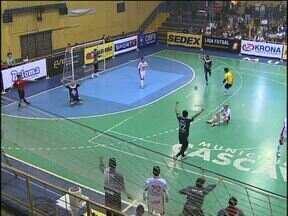 Cascavel perde para o Joinville na Liga Nacional de Futsal - Na segunda-feira a serpente encerra a primeira fase da competição.