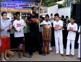 Programa 'Fica Vivo' promove apresentações em Ipatinga - Mostra foi realizada no bairro Betânia, onde projeto foi implantado há 8 anos