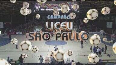 Copa TV Tribuna de Futsal Escolar terminou neste sábado (22) - As finais ocorreram neste sábado, tanto no masculino, quanto no feminino, no ginásio do Sesc.