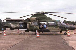 Base Aérea de Campo Grande abre portões para população - Durante o fim de semana a Base Aérea de Campo Grande abriu os portões para a população. Os visitantes participaram de várias atividades programadas.