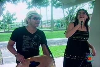 Banda Menina do Céu toca sucessos no JPB - Banda faz show no Parque do Povo durante o São João de Campina Grande
