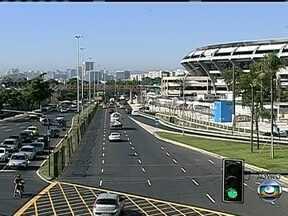 Jogo no Maracanã terá a maior segurança já montada para um jogo de futebol no Brasil - A segurança durante a final da Copa das Confederações contará com o trabalho de 6 mil homens da Polícia Militar. O esquema de trânsito ao redor do Maracanã começa a partir das 13 horas de domingo (30).