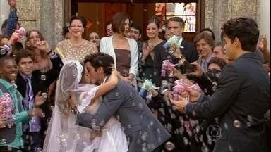 Malhação - Capítulo de quinta-feira, dia 04/07/2013, na íntegra - Fatinha e Bruno se casam