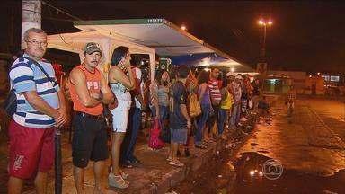 Trânsito no Recife fica ainda mais complicado devido à greve dos rodoviários - Mais de dois milhões de passageiros são afetados pela paralisação.