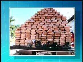 158 kg de pasta base de cocaína são apreendidas em Filadélfia-TO - 158 kg de pasta base de cocaína são apreendidas em Filadélfia-TO