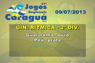 Confira os resultados do Alto Tietê nos Jogos Regionais - A competição está sendo realizada em Caraguatatuba.