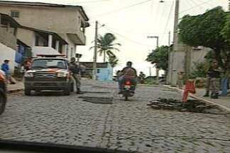 Motoqueiros não utilizam equipamentos de segurança em Fagundes, na Paraíba - A situação é comum nas cidades do interior da Paraíba, onde não há fiscalização.
