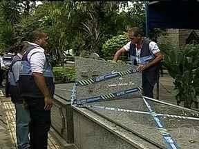Suspeitos de esquema criminoso de venda de túmulos em cemitérios depõem no Rio - Eles disseram que não sabia que o negócio era ilegal.
