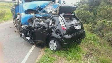 Fim de semana foi violento nas estradas do Sul de Minas - Fim de semana foi violento nas estradas do Sul de Minas