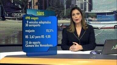 Prefeitura anuncia novas vagas para taxistas e aumento na tarifa - Corrida vai aumentar em 10,5%.