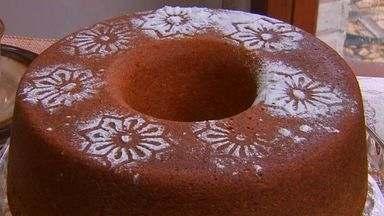 Aprenda uma receita especial de bolo fofo - Veja as receitas do NE Rural.