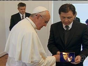 Papa Francisco dá entrevista exclusiva ao Fantástico - O pontífice falou com o repórter Gerson Camarotti.