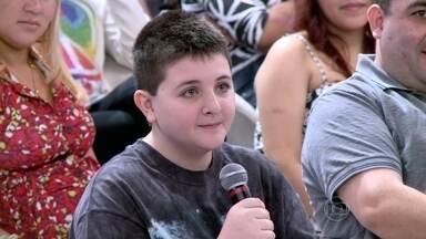 Lucas Ganem passa o tempo observando o céu - Pai diz que ele é uma criança normal, que joga videogame, mas adora astronomia