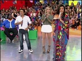Após cantar no palco do Esquenta!, Solteirões do Forró falam sobre carinho e amor - Regina Casé explica porque as músicas de amor estão tão presentes nas paradas de sucesso
